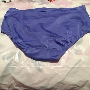Bali Intimates & Sleepwear - Bali Blue Briefs Indulgence Satin Style 2782 2XL/9